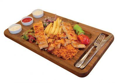 PLATES-CHICKEN-SHASLICK